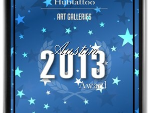 Hubtattoo Receives 2013 Top Austin Art Gallery Award