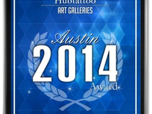 Hubtattoo Receives 2014 Top Austin Art Gallery Award