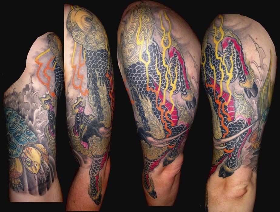 Tattoo portfolio hubtattoo michael norris for Austin texas tattoo