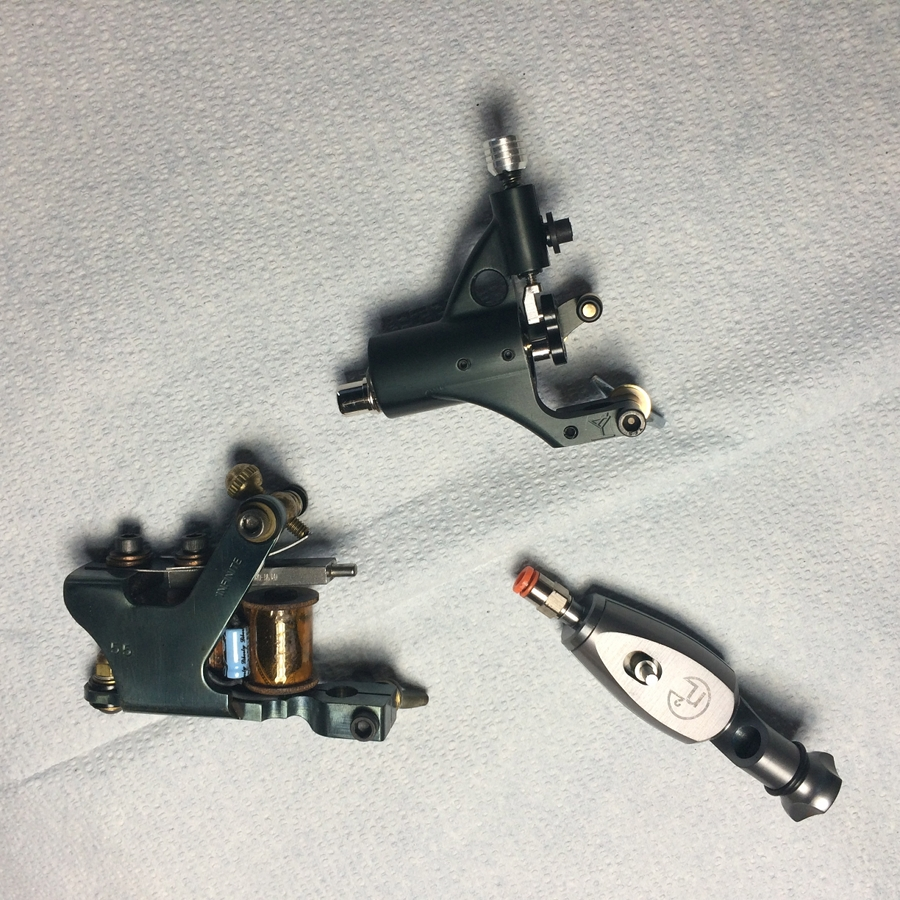 tattoo machines work, a very basic overview