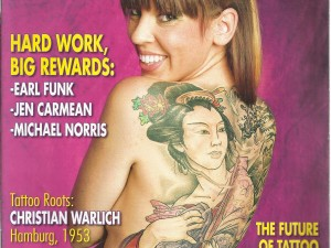 Michael Norris Feature | International Tattoo Artist Magazine 2008